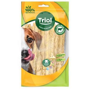 Лакомства для собак Triol, 8 г, сыромятная кожа, 15 шт.