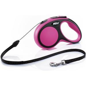 Рулетка для собак Flexi Flexi New Comfort S, розовый
