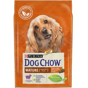 Корм для собак Purina Dog Chow Mature Adult, 2.5 кг, ягненок