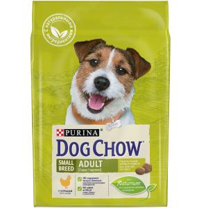 Корм для собак Purina Dog Chow Adult Small Breed, 2.5 кг, курица