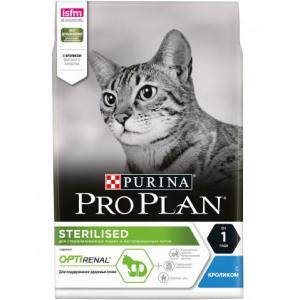 Корм для кошек Pro Plan Sterilised, 3 кг, кролик и курица