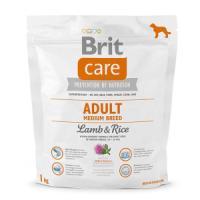 Фотография товара Корм для собак Brit Care Adult Medium Breed , 1 кг, ягненок с рисом
