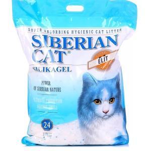 Наполнитель для кошачьего туалета Сибирская кошка Elit, 10.96 кг, 24 л