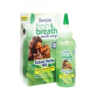 Зубной гель для собак и кошек Tropiclean Fresh Breath, 118 мл