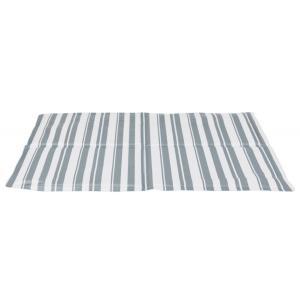 Охлаждающий коврик для собак Trixie Cooling Mat M, размер 50х40см., бело-серый