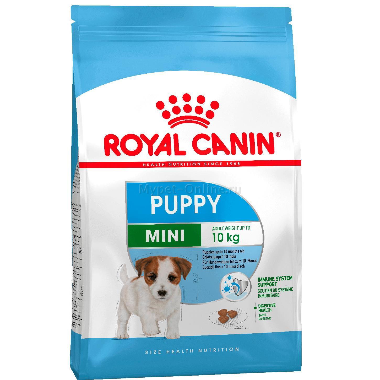 Royal Canin Mini Puppy корм для щенков, 4 кг: купить с доставкой - Интернет зоомагазин MyPet-Online.ru