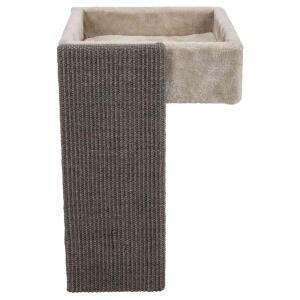 Когтеточка с лежаком для кошек Trixie Bed for Shelves, размер 33х48х37см.