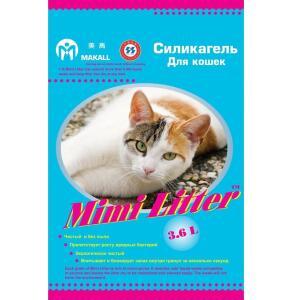 Наполнитель для кошачьего туалета Mimi Litter Голубые гранулы, 1.81 кг