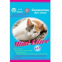 Фотография товара Наполнитель для кошачьего туалета Mimi Litter Голубые гранулы, 1.81 кг