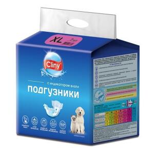 Подгузники для собак Cliny XL, 7 шт.