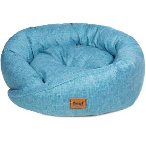 Лежак для собак и кошек Triol Венеция M, размер 70х70х20см.