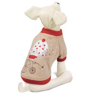 Футболка для собак Triol Мороженое L, размер 35см.