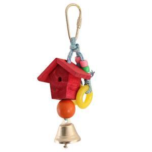 Игрушка для птиц Triol Скворечник, размер 17.5х5см.