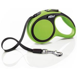 Поводок-рулетка для собак Flexi New Comfort XS, зеленый