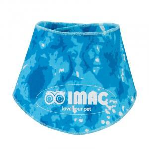 Косынка охлаждающая для животных Imac Cooling Bandana, размер 45х45см., голубой
