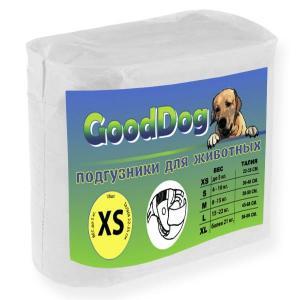 Подгузники для собак GoodDog XS