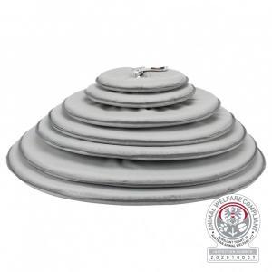 Защитный воротник для собак Trixie XS, размер 23-27/13см., серый