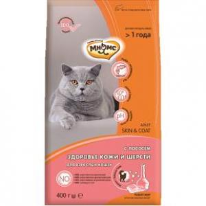 Корм для кошек Мнямс Skin&Coat , 400 г, лосось
