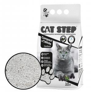 Наполнитель для кошачьих туалетов Cat Step, 8.4 кг, 10 л