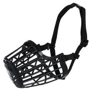 Намордник для собак Trixie Plastic L, черный