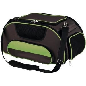 Сумка-переноска для собак Trixie Wings, размер 46х28х23см., коричневый / зеленый