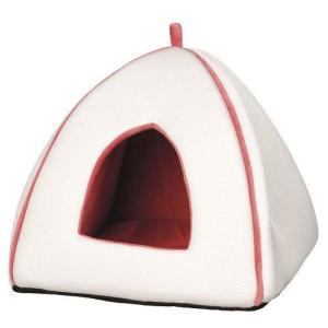 Домик для кошек и собак Trixie Noria, размер 40x38x38см., белый / оранжево-розовый