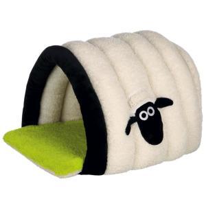 Домик для кошек и собак Trixie Shaun the Sheep, размер 45x35x50см., кремовый / зеленый
