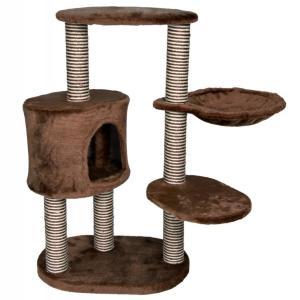 Домик-когтеточка для кошек Trixie Morilles, размер 60х40х99см., коричневый