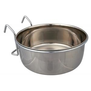 Миска для птиц Trixie Stainless Steel Bowl XL, 900 мл, размер 14см.