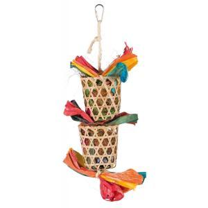 Игрушка для птиц Trixie Natural Toy, размер 35см.