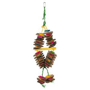 Игрушка для птиц Trixie Wooden Toy, размер 18х35см.