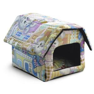 Домик для собак и кошек Гамма Дг-06111, размер 36х40х36см., цвета в ассортименте
