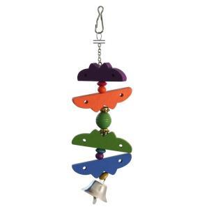 Игрушка для птиц Triol 082KX, размер 25х5см., цвета в ассортименте