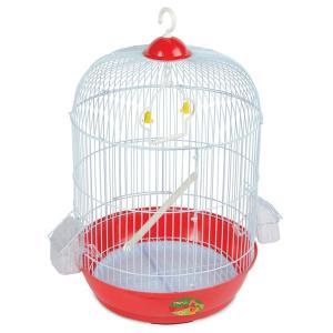 Клетка для птиц Triol A9001G, размер 33.5х33.5х53см., золото
