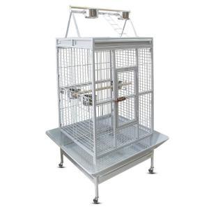 Клетка для птиц Triol BC18-1W, размер 83х77х178см., белый