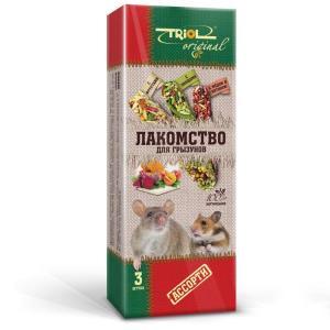 Корм для грызунов Triol Original, овощи, мед, фрукты, хитин, злаки, семена