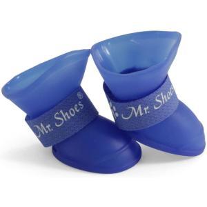 Сапожки для собак Triol YXS202-L L, размер 5.5х4.5х5.5см., синий