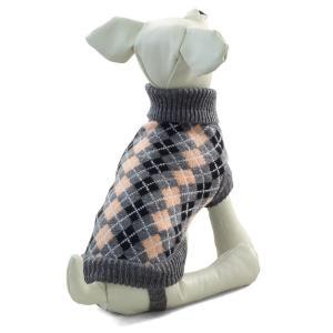 Свитер для собак Triol TR67 XS, размер 20см., бежево-серый