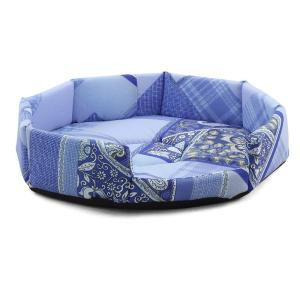 Лежанка для собак и кошек Гамма Окта XS, размер 36х36х8см., цвета в ассортименте