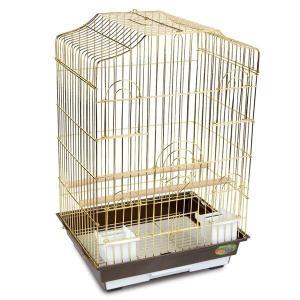 Клетка для птиц Triol 6112G, размер 46.5х36х71см.