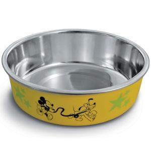 Миска для собак и кошек Triol Mickey & Pluto, 250 мл, желтый
