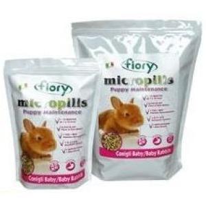 Корм для крольчат Fiory Micropills Baby Rabbits, 910 г, семена, размер 0.255x0.16x0.08см.