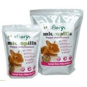Корм для крольчат Fiory Micropills Baby Rabbits, 2.1 кг, семена