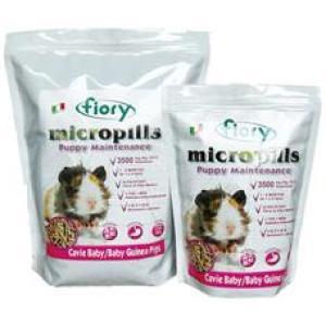 Корм для морских свинок Fiory Micropills, 2.1 кг, люцерна, семена