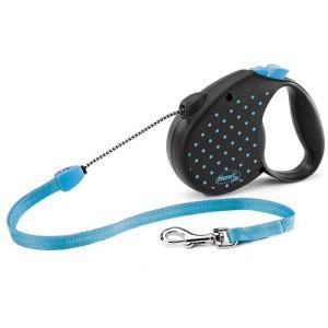 Поводок-рулетка для собак Flexi Color M M, голубой
