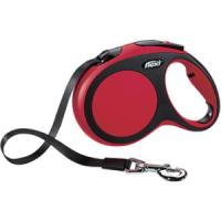 Фотография товара Поводок-рулетка для собак Flexi New Comfort L L, черный/красный