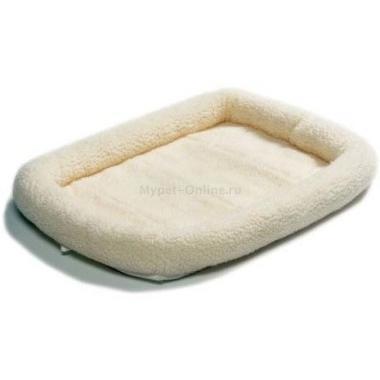 Лежанка для собак Midwest Pet Bed, размер 76х53см., белый - Интернет зоомагазин MyPet-Online.ru