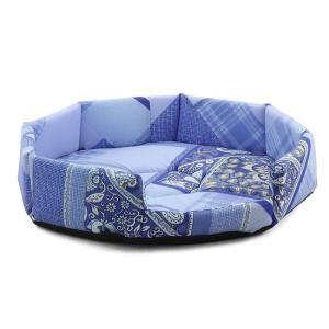 Лежанка для собак и кошек Гамма Окта Мини S, размер 40х40х8см., цвета в ассортименте