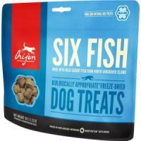 Фотография товара Лакомство для собак Orijen FD Six fish Dog, 92 г, рыба