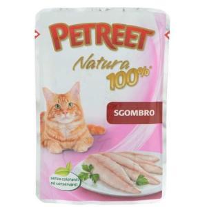 Корм для кошек Petreet Natura, 85 г, макрель